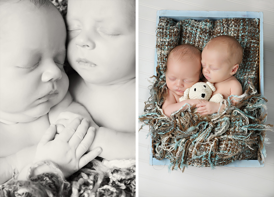 Twin Atlanta Newborn Photography1